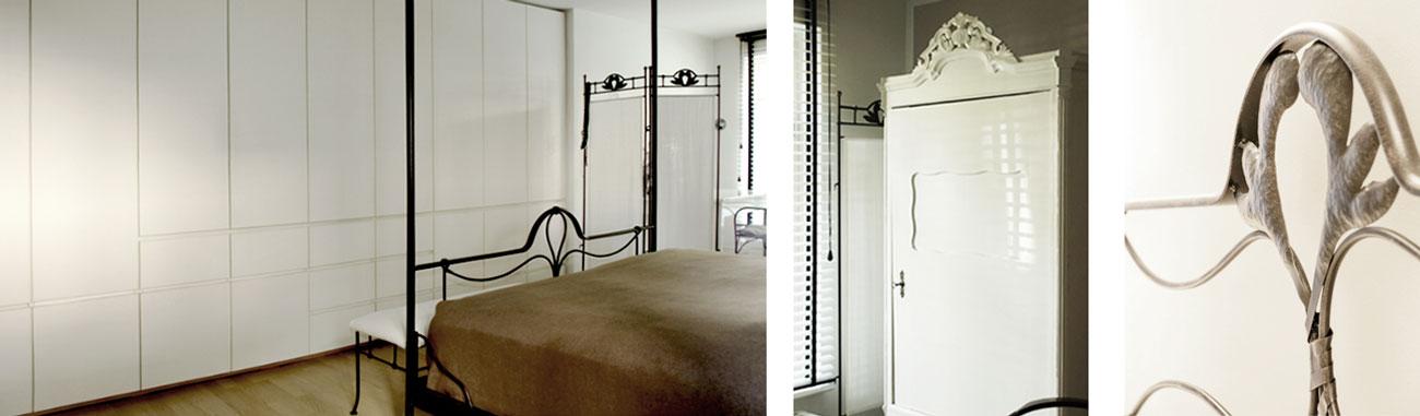 Schlafzimmer Gestaltung für eine Hamburger Wohnung