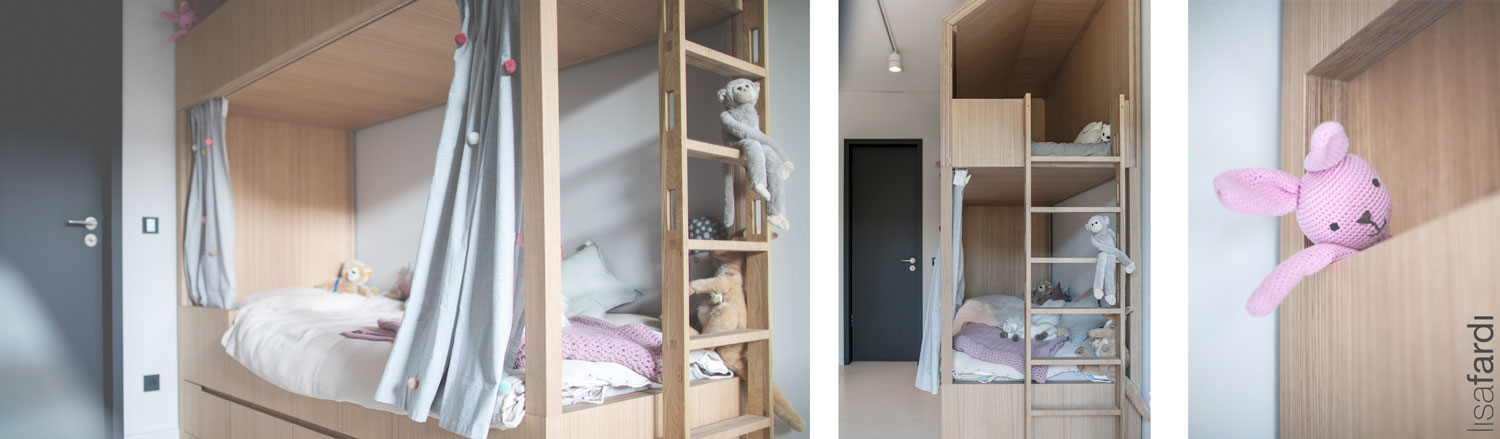 Interieur Design für ein Kinderzimmer in Hamburg
