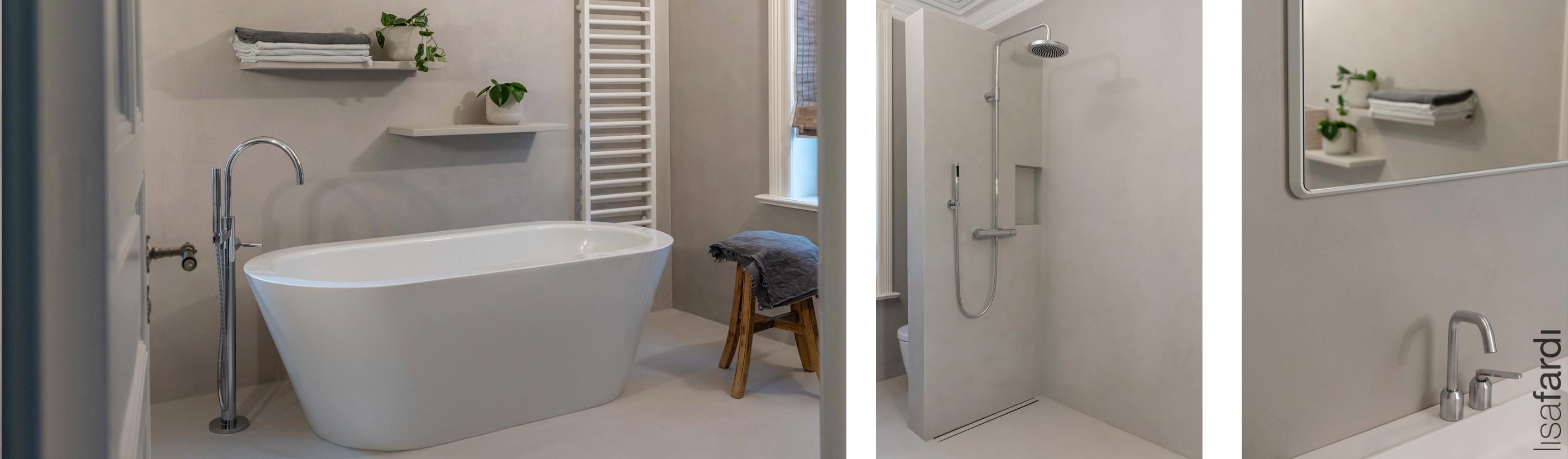 Badplanung und Interior Design in einer Hamburger Villa