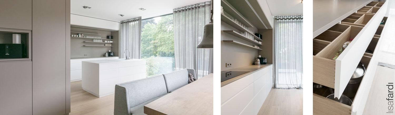 Küchenkonzept einer Villa in Hamburg Othmarschen